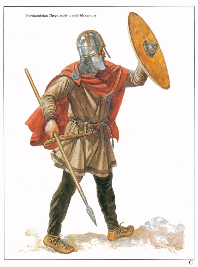 chivalrous knights vs anglo saxon warriors